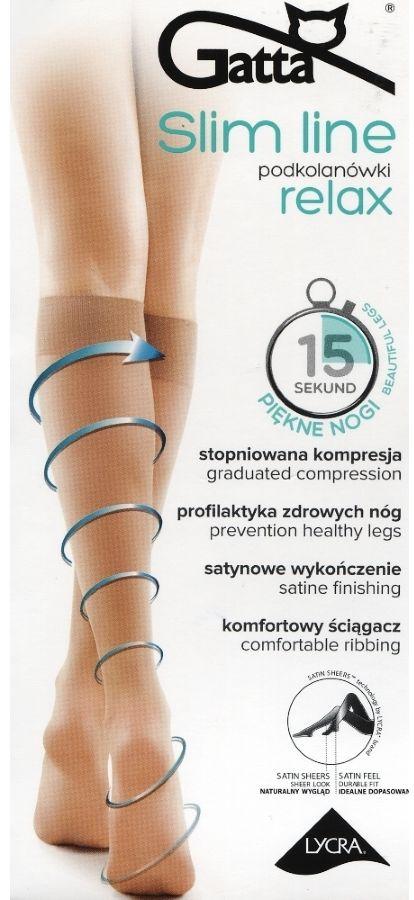 SLIM LINE RELAX - Podkolanówki damskie