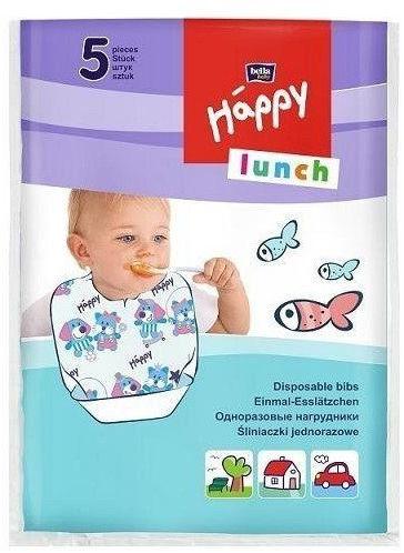 Bella Happy śliniak jednorazowy Lunch, 5 szt.