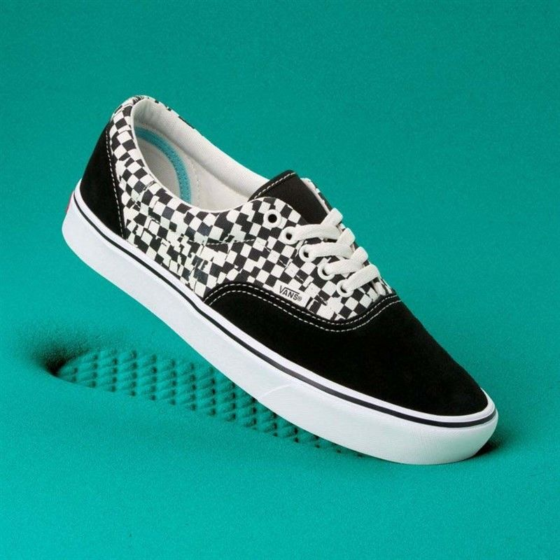 buty VANS - Comfycush Era (Tear Check) Blk/True Wht (V9Y
