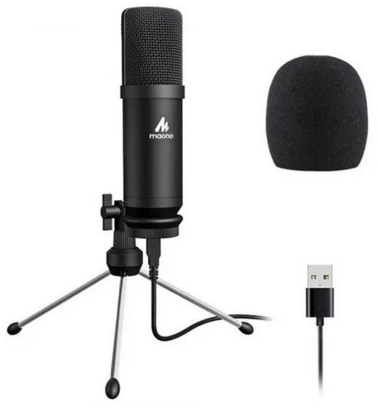 MAONO AU-A04TR - mikrofon do nagrywania USB