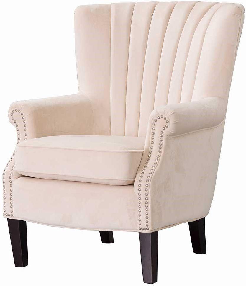 Fotel Scarlett Velvet Cream 78x83x101cm