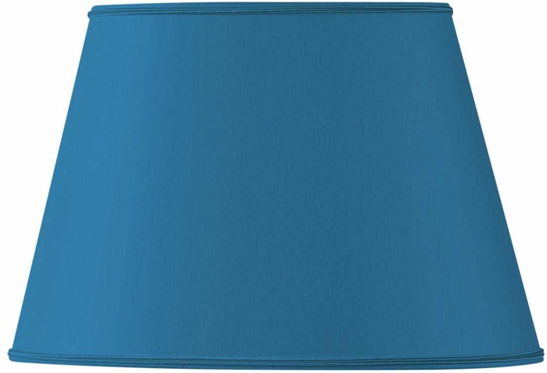 Klosz lampy owalny, Ø 35 x 24,5 cm, 21,5 x 15 cm, jasnoniebieski