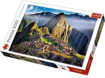 Puzzle TREFL 500 - Zabytkowe sanktuarium Machu Picchu