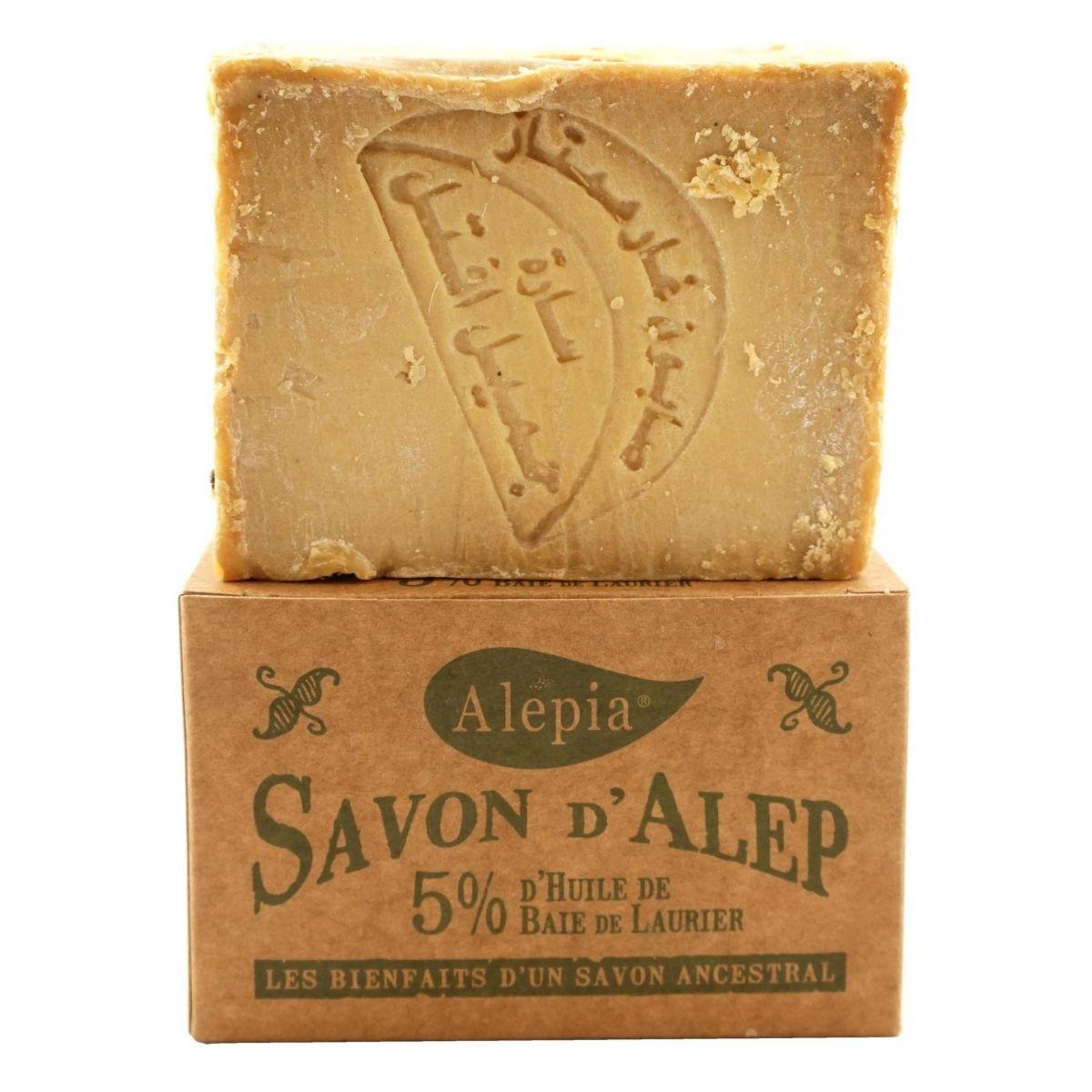 Mydło Aleppo 5% oleju laurowego - 190 - Alepia