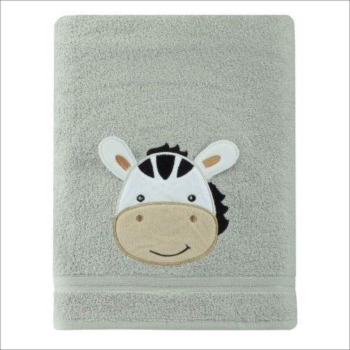 Ręcznik kąpielowy dziecięcy gruby 50x90 Zebra Spod Igły i Nitki