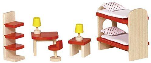 Goki 51719 meble dla lalek pokój dziecięcy Basic