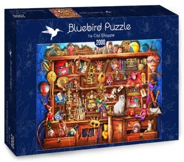 Puzzle 2000 W starym sklepie - Bluebird Puzzle