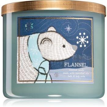 Bath & Body Works Flannel świeczka zapachowa V. 411 g