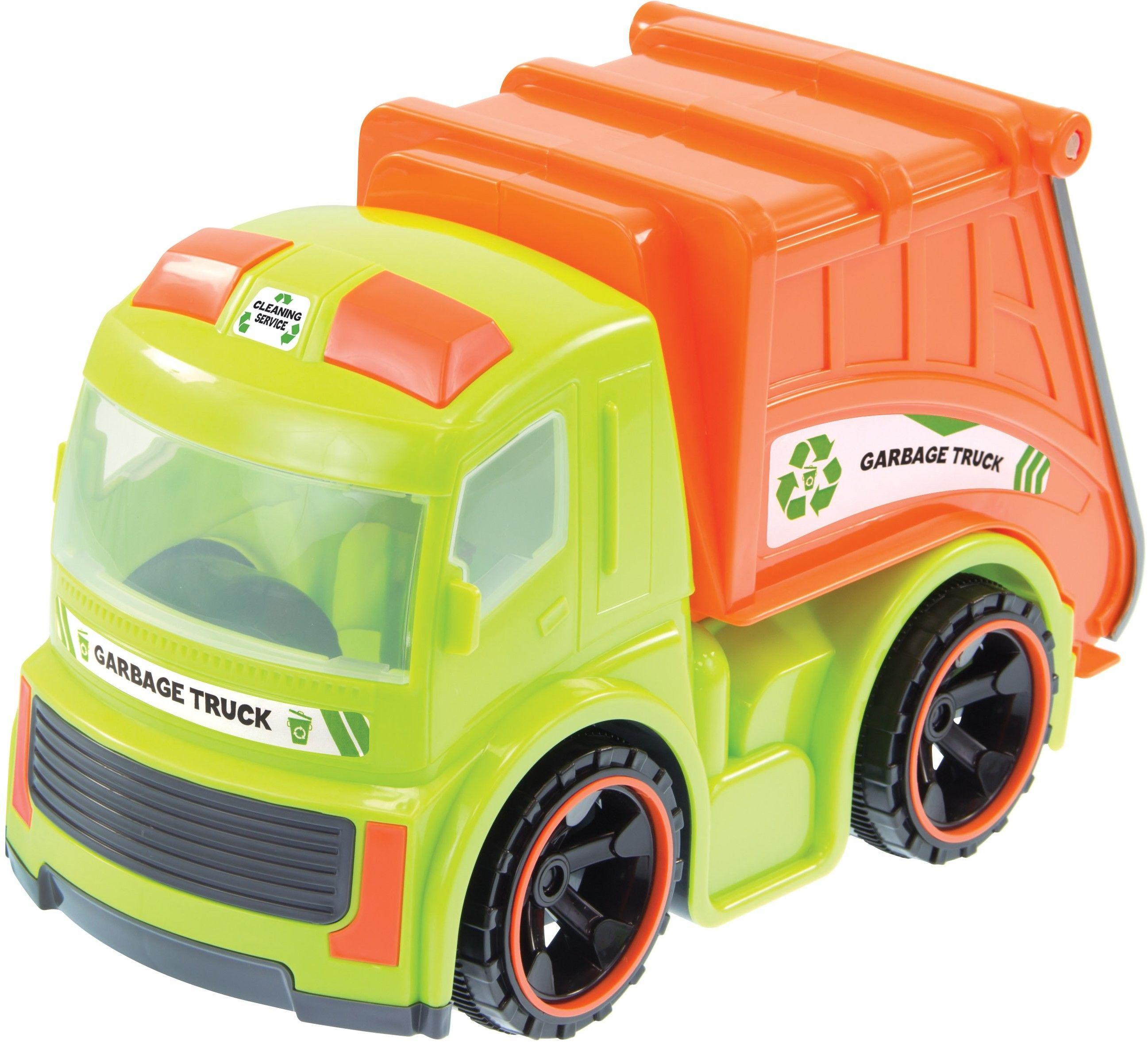Mochtoys Ciężarówka Śmieciarka Dla Dzieci