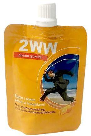 Płynna glukoza dla diabetyków 2WW Medmess - 1 saszetka - 24 ml