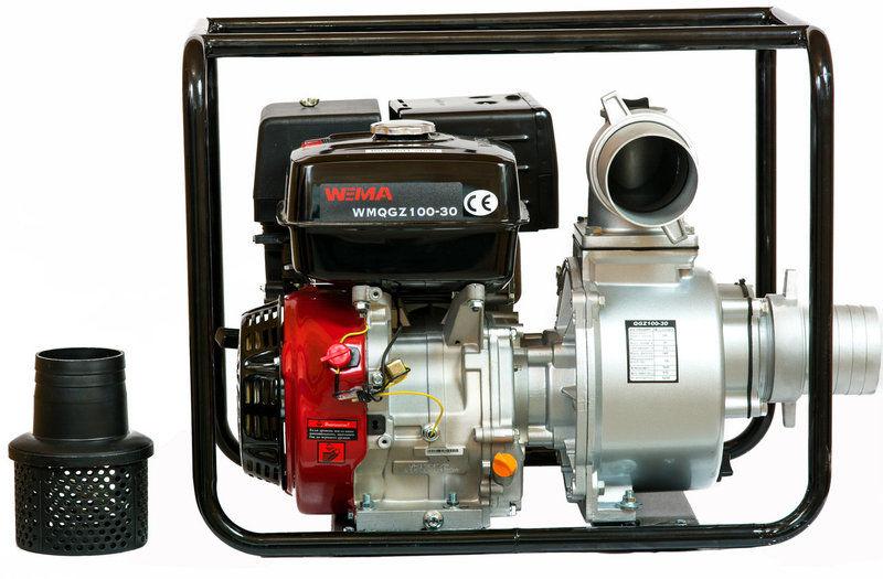 Motopompa spalinowa wysokowydajna WEIMA WMQGZ100-30 96m3/h