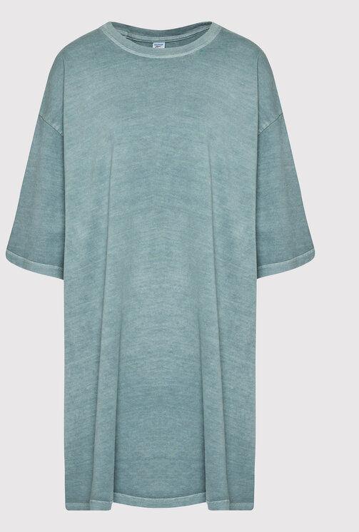 Sukienka codzienna Classics Natural Dye H13282 Zielony Oversize