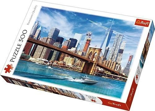 Puzzle TREFL 500 - Widok na Nowy Jork, View of New York