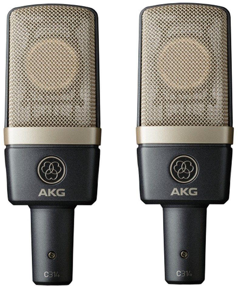 AKG C314 MATCHED PAIR - mikrofon pojemnościowy