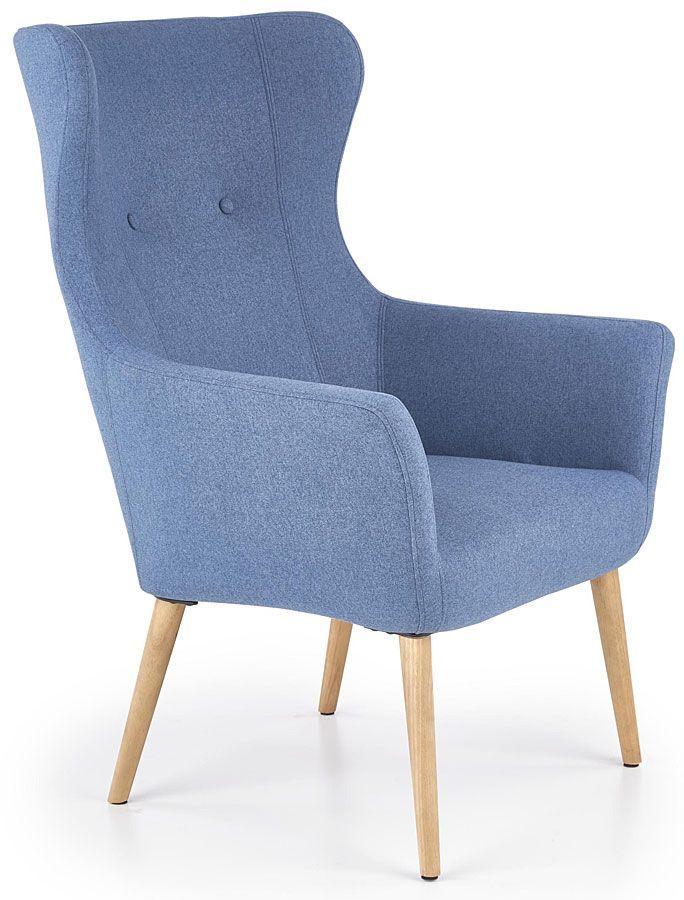 Fotel uszak wypoczynkowy Devan - niebieski