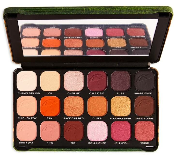 Makeup Revolution Friends FOREVER FLAWLESS I''ll Be There For You Eyeshadow Palette Paleta cieni do powiek