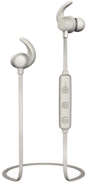Hama WEAR7208GR słuchawki douszne, bezprzewodowe, szare