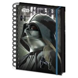 Gwiezdne Wojny. Łotr 1 - notatnik Darth Vader