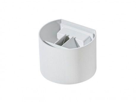 Kinkiet Leticia 2 AZ1058 AZzardo biała oprawa w nowoczesnym stylu