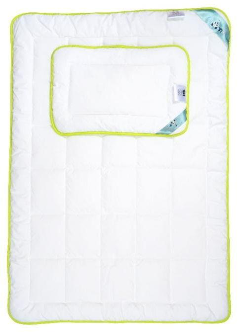 Kołdra dziecięca 90x120 AMZ Panda Bamboo z poduszką 40x60 Antyalergiczna
