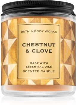 Bath & Body Works Chestnut & Clove świeczka zapachowa I. 198 g