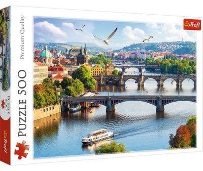 Puzzle TREFL 500 - Praga, Czechy, Prague, Czech Republic