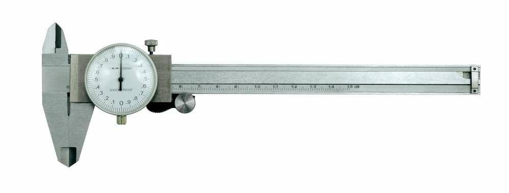 Suwmiarka zegarowa 150 mm /0,02 mm Vorel 15220 - ZYSKAJ RABAT 30 ZŁ