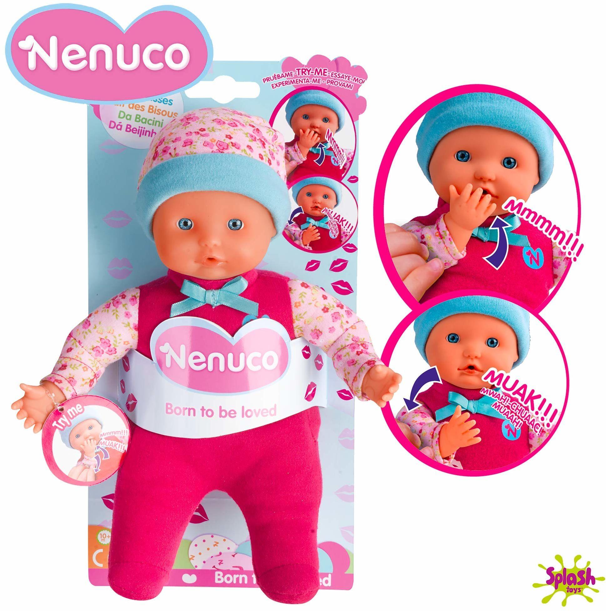 Nenuco de Famosa Nenuco Da Besitos, lalka dla dzieci od 10 miesięcy (Famosa 700014775), wielokolorowa