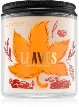 Bath & Body Works Leaves świeczka zapachowa III. 198 g