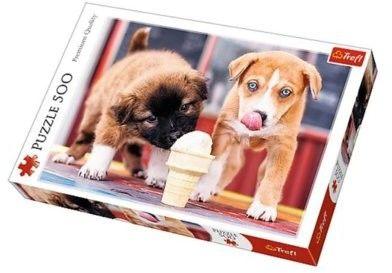 Puzzle TREFL 500 - Pora na lody, Ice cream time!