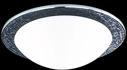 Fischer & Honsel Lampa sufitowa 2 x E27 maks. 40 W ciemnobrązowy / aluminium