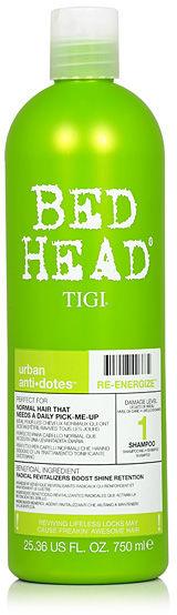 Tigi Bed Head Re-Energize Energizujący szampon do włosów 750 ml