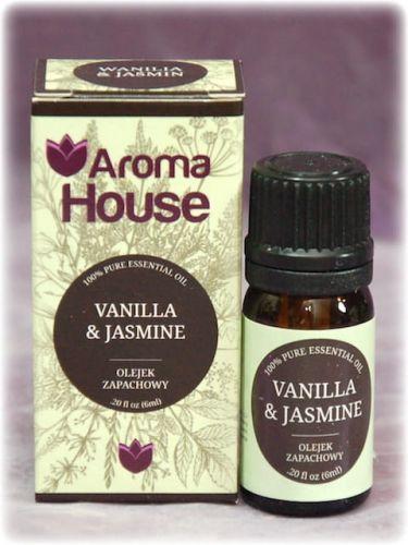 WANILIA I JAŚMIN - Olejek zapachowy Aroma House 10ml
