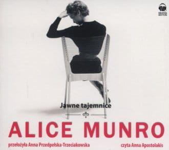 Audiobook - Jawne tajemnice (CD mp3) - Alice Munro