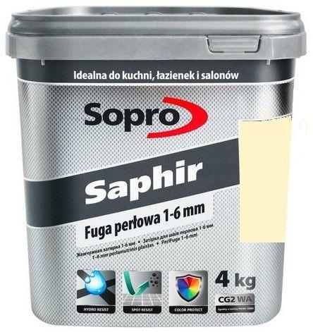 SOPRO SAPHIR- fuga perłowa, wanilia, 4 kg