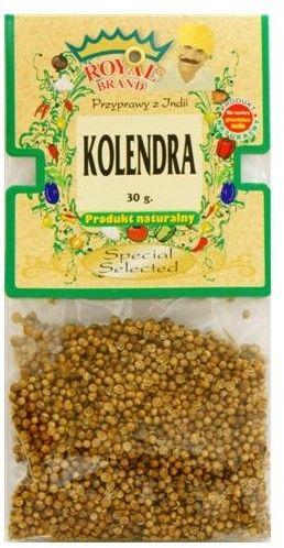 Kolendra ziarno, sterylizowana 30 g