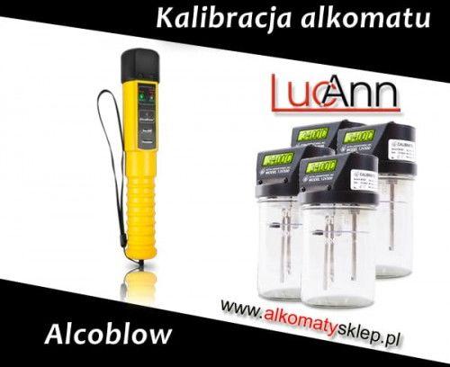 Kalibracja alkomatu AlcoBlow