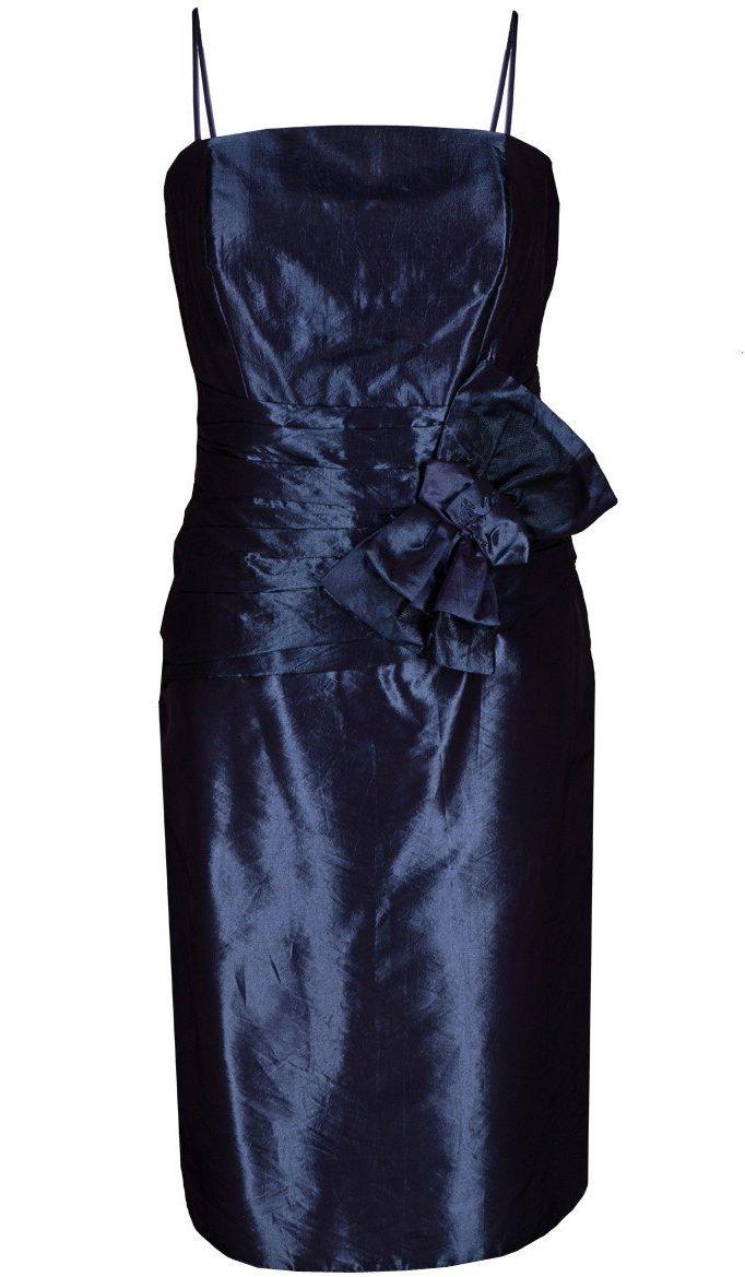Sukienka FSU202 CHABROWY CIEMNY