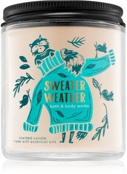 Bath & Body Works Sweater Weather świeczka zapachowa I. 198 g