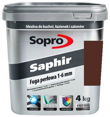 SOPRO SAPHIR- fuga perłowa, toffi, 4 kg