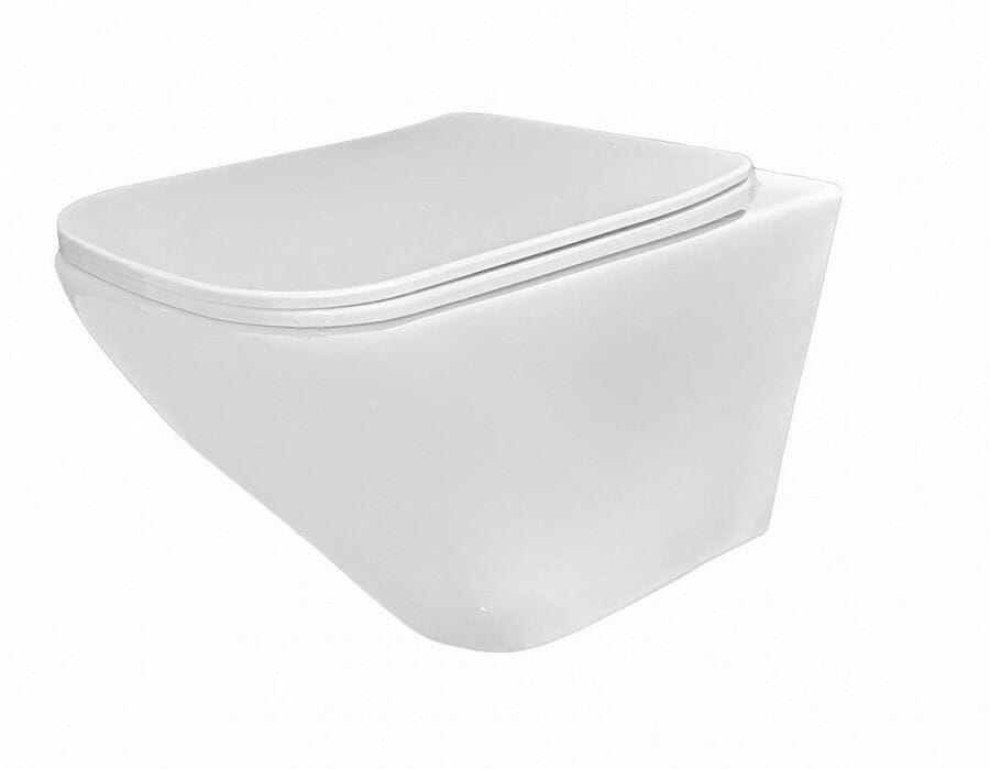 Miska WC podwieszana bezrantowa z deską Ivo Rimless Rea (REA-C9201)
