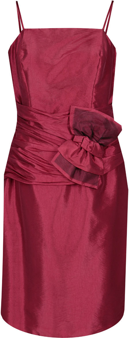 Sukienka FSU202 RUBINOWY