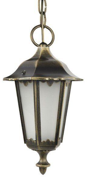 Lampa wisząca klosz ozdobny Retro Midi K 1018/1/M mosiądz