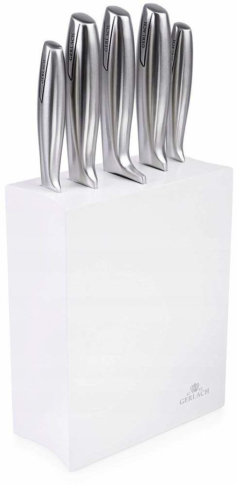 Gerlach Zestaw Noży W Czarnym Bloku Modern