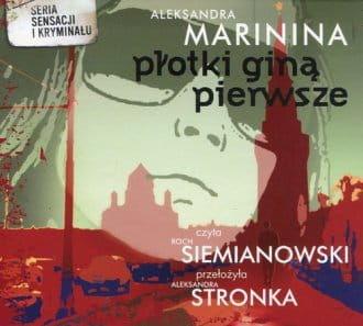 Audiobook - Płotki giną pierwsze (CD mp3) - Aleksandra Marinina