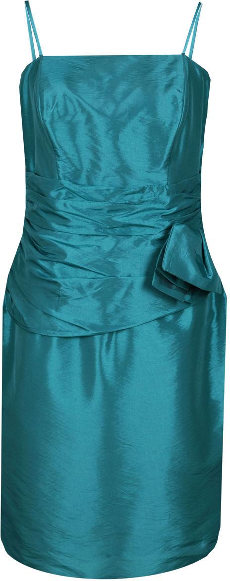 Sukienka FSU202 ZIELONY MORSKI