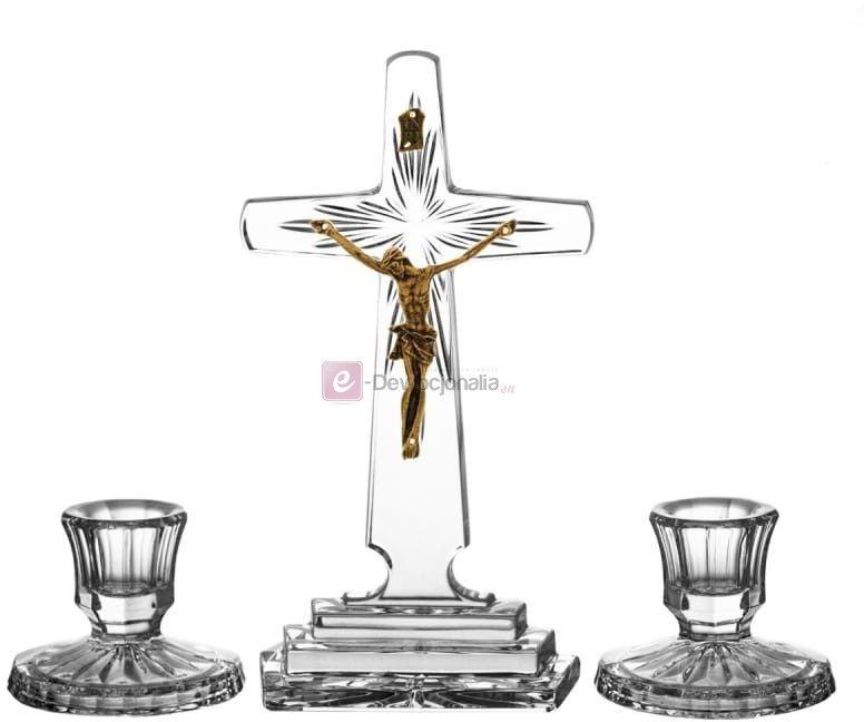 Komplet kolędowy kryształowy Ars Christiana - 21cm