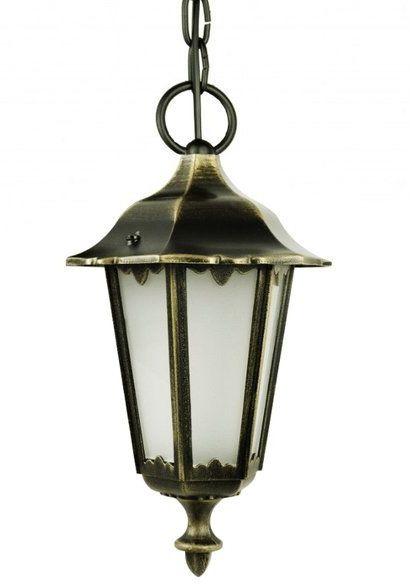 Lampa wisząca klosz ozdobny Retro Midi K 1018/1/M antyk