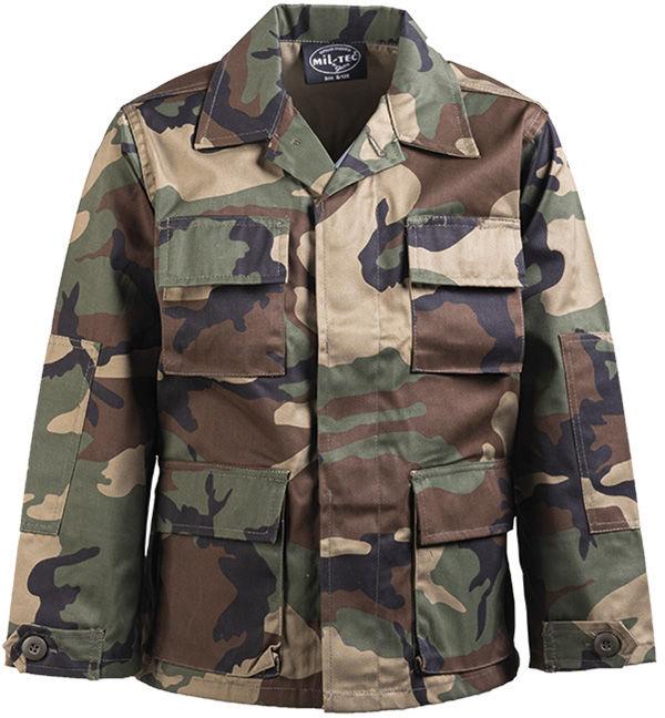 Bluza dziecięca Mil-Tec BDU Woodland (12026020)