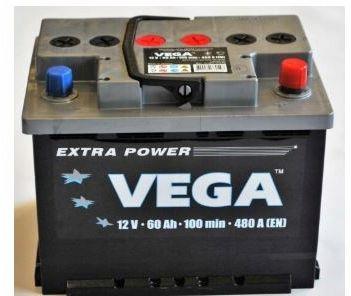 Akumulator VEGA 60Ah 480A Prawy+ RASZYN